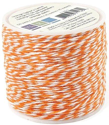 We R Memory Keepers Sew Easy Baker's Twine Spool for Scrapbooking, Orange by We R Memory Keepers