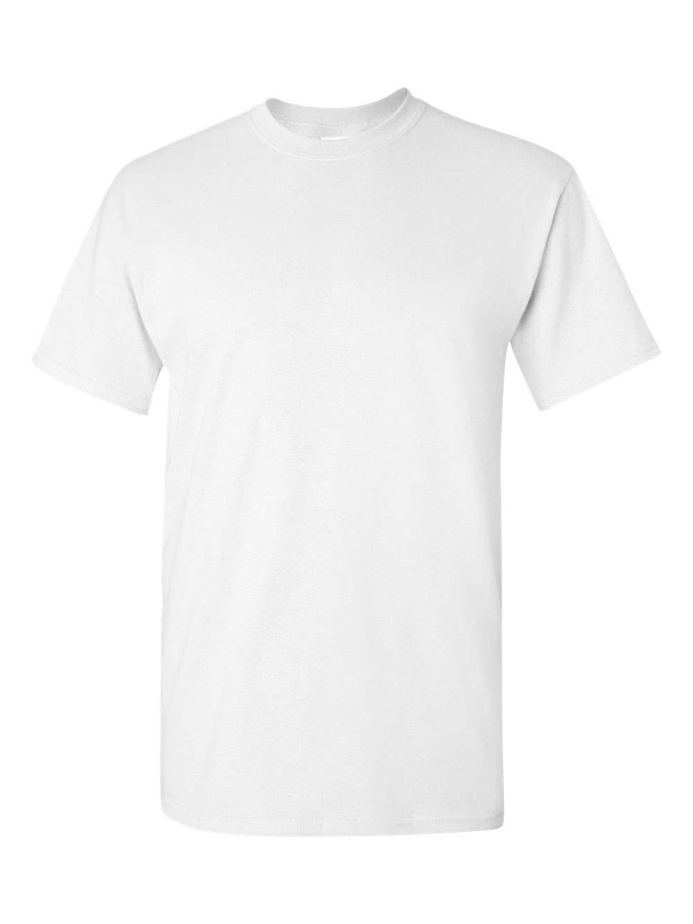Gildan Men's Heavy Cotton Tee (Pack of 12), White, Large