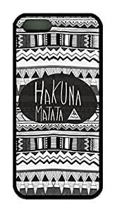 Aztec Tribal Hakuna Matata Theme Iphone 5 5s Case TPU Material by icecream design