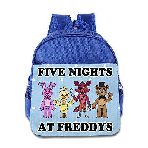 Kid's Five Nights At Freddys Group School Backpack (Hulk Hogan Costume Kids)