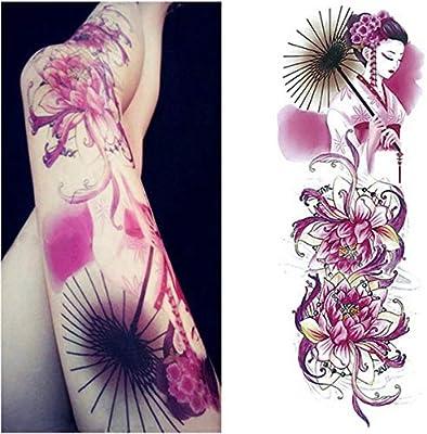 3 Piezas Tatuaje Pegatina Hombre Brazo Grande Conjunto Tatuaje ...