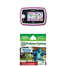 Leapfrog Leappad3 Kids' Learning Tablet, Pink + LeapFrog Explorer Learning Game: Disney Monsters University Bundle