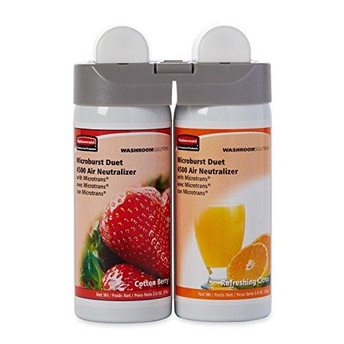 rubbermaid-commercial-3485952-microburst-duet-2-fragrance-aerosol-odor-control-air-care-system-fragr