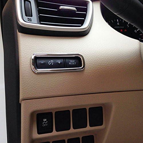 High Flying Für Qashqai J11 2014 2020 Interieur Tachometer Taste Interieurleisten 1 Stück Abs Kunststoff Chromed Auto