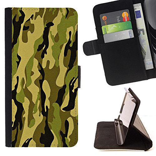 Shockproof Card holder phone case for LG Nexus 5X(Army Green) - 1