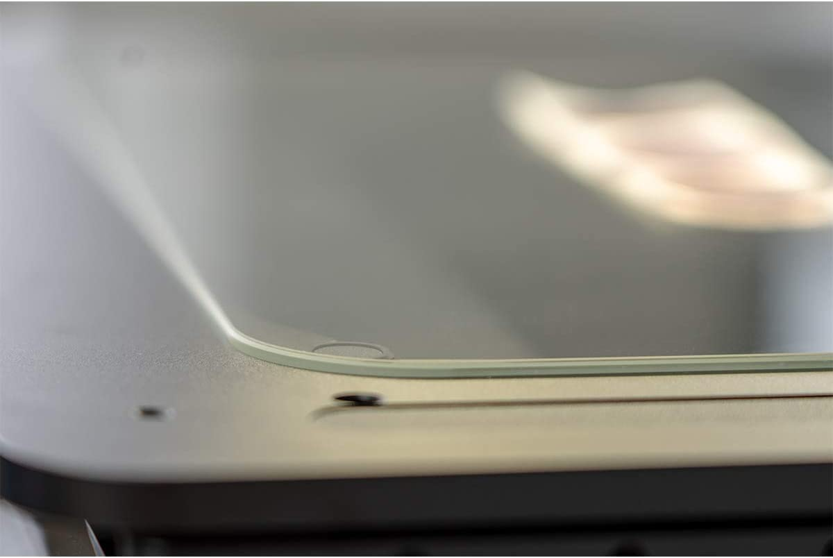 Displayschutz Folie und Glas = biegsames HYBRIDGLAS entspiegelnd Anti-Reflex SWIDO Panzerglas Schutzfolie kompatibel mit Garmin vivomove 3S splitterfrei MATT 39mm