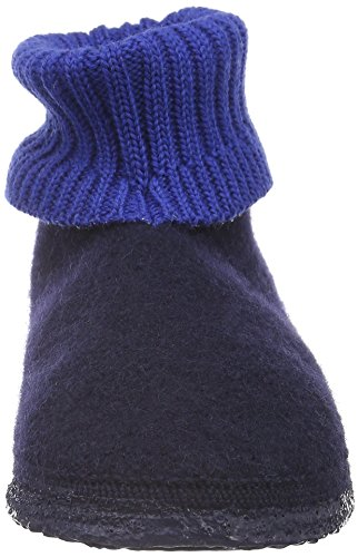 blau Blue Slippers Kramsach 6 548 Blue Low Unisex Top Dk Adults' Giesswein 8PO78