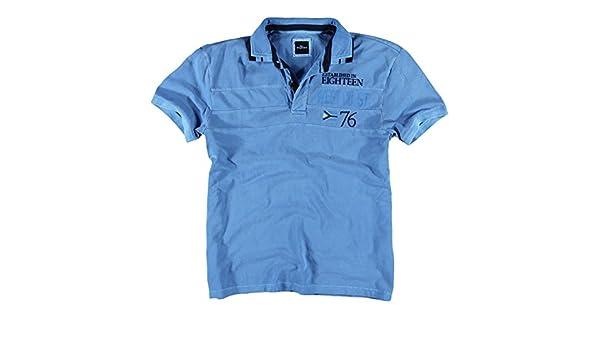 engbers - Polo - Regular - para hombre Azul Agua XXXXL: Amazon.es ...