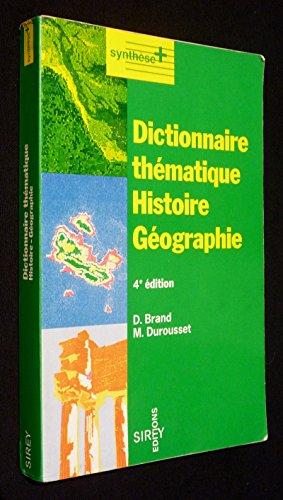 Telecharger Dictionnaire Thematique Histoire Geographie