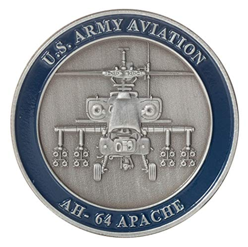 United States Army Aviation AH-64 Apache Helicopter Challenge Coin