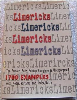 Limericks, Limericks, Limericks: The Famous Paris Edition