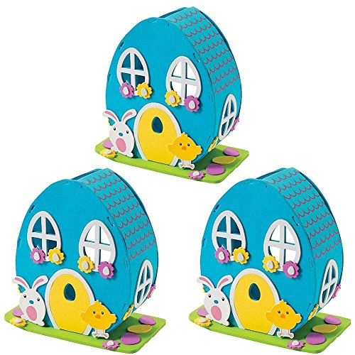 Set of 3 DIY Craft Kits with Easter