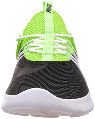 Nike Darwin, Zapatillas de Running para Hombre Black/White Electric Green