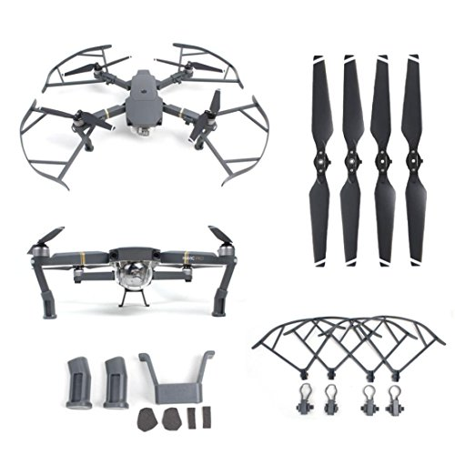 gotd-heightened-landing-gear-protector-guard-props-propellers-blade-for-dji-mavic-pro-a-set