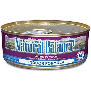 Natural Balance Canned Cat Food Indoor Formula