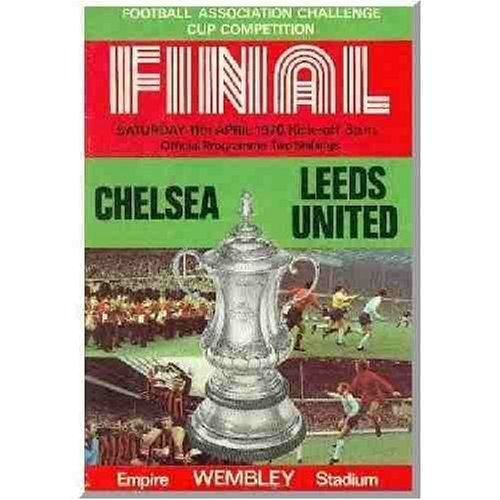 Chelsea 1970 Fa Cup - 1970 Fa Cup Final - Chelsea V Leeds Utd [Collectors Edition] [Import anglais]