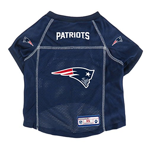 NFL New England Patriots Pet Jersey, Small