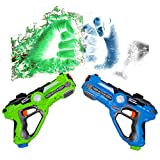 HANMUN Infrared Laser Tag Blaster Gun Game Pack Set of 2 Infrared Laser