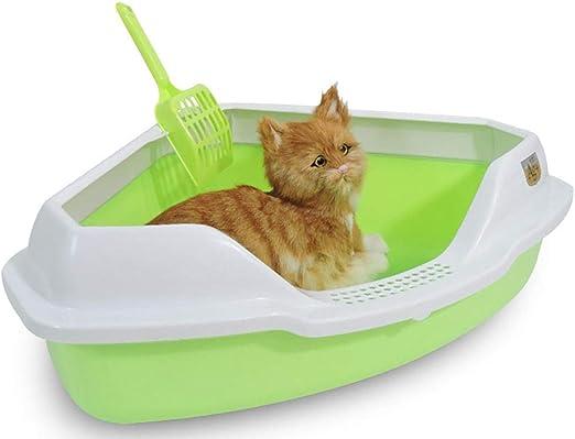 tfsg - Caseta higiénica para Gatos, Caja para Gatos, Caja de Arena ...