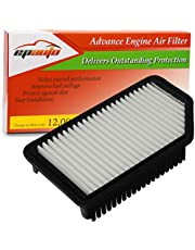 EPAuto GP206 (CA11206) Replacement for Hyundai/Kia Extra Guard Rigid Panel Air Filter for Accent (2012-2017), Veloster (2012-2017), Rio (2012-2017), Soul (2012-2019)