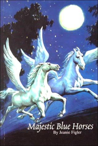 Majestic Blue Horses