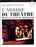 Assise du théâtre : Pour une étude du spectateur