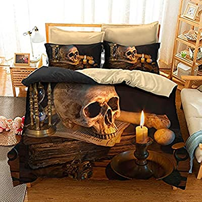 Skeletons Gothic Double Duvet Cover