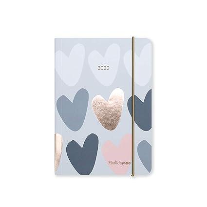 Matilda MOO 2020 - Agenda (tamaño A6), diseño de día por ...