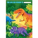 Bolsas dinosaurio del partido (paquete de 8)