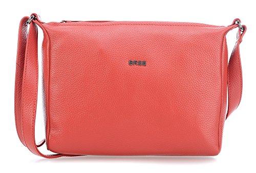 Bree Nola 2 Borsa a spalla pelle 25 cm Rosso (Massai Red)