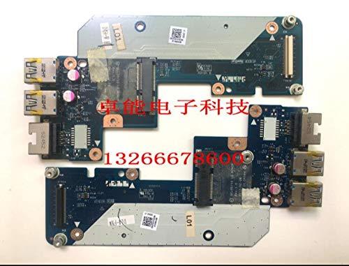 Calvas 7520 5520 2 USB Ethernet LAN PCB Connector Board LS-8242P N7JHH 0N7JHH