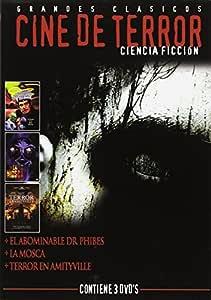 Pack Cine Terror C.Ficcion (3 Dvds): Amazon.es: Varios: Cine y ...