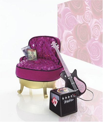 Mattel Barbie Fashion Fever Rockin' Guitar Chair Furniture