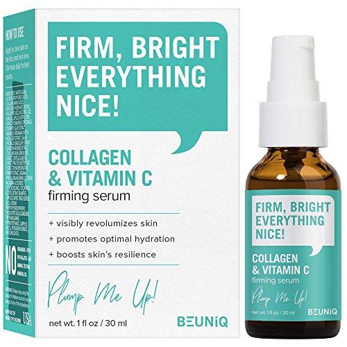 BeUniq Collagen & Vitamin C Firming Serum 1oz / 30ml