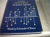 Statistics : An Intuitive Approach, Weinberg, George H. and Schumaker, John A., 0818504269