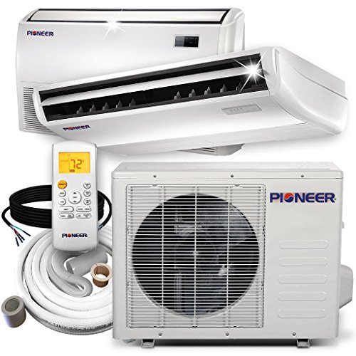 PIONEER Air Conditioner Inverter++ Split Heat Pump, 18,000 BTU, 208-230 V