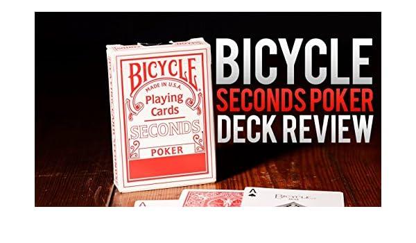 Caja de 12 barajas BICYCLE Second (12 Rojo): Amazon.es: Juguetes y ...