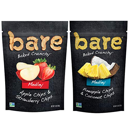 bare Medleys, Variety Pack, Apple Strawberry & Pineapple Coconut (6Count) ()