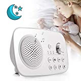 White Noise Sound Machine for Sleeping—8 Soothing Ambient Sound Machines for Baby, Kids, Adults Sleep