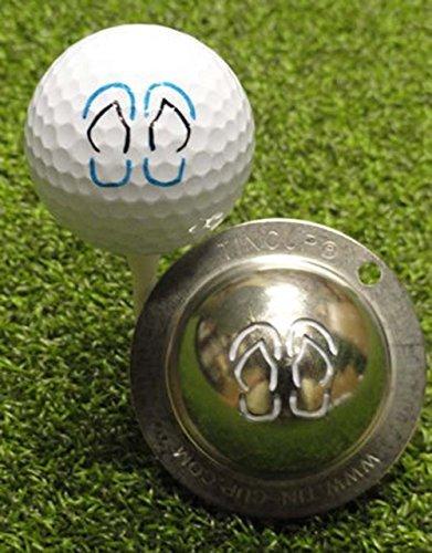 Tin Cup Golf Ball Custom Marker Alignment Tool Models (Honu Turtle)
