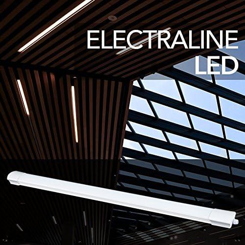 Electraline LED-Lichtleiste für die Außenbeleuchtung, weiß, 65061