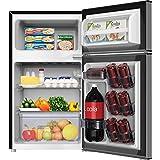Appliances : Avanti RA31B3S 3.1 CF Refrigerator Freezer, Stainless Steel