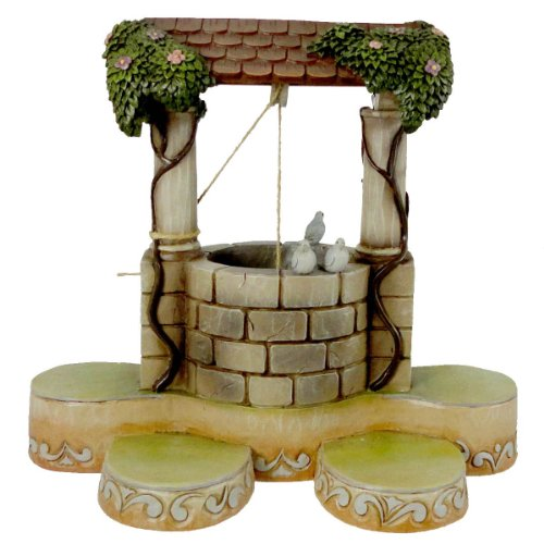 Jim Shore WISHING WELL DISPLAY BASE 4013987 Disney Traditions New
