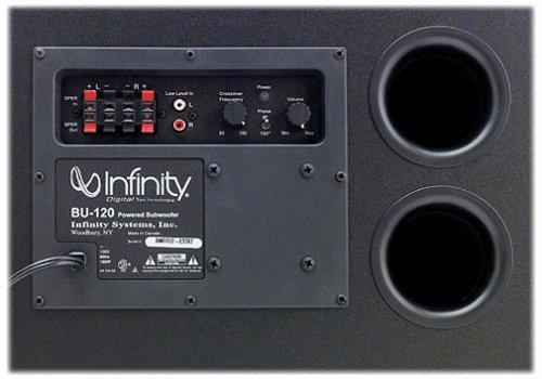 amazon com infinity bu 120 powered subwoofer discontinued by rh amazon com