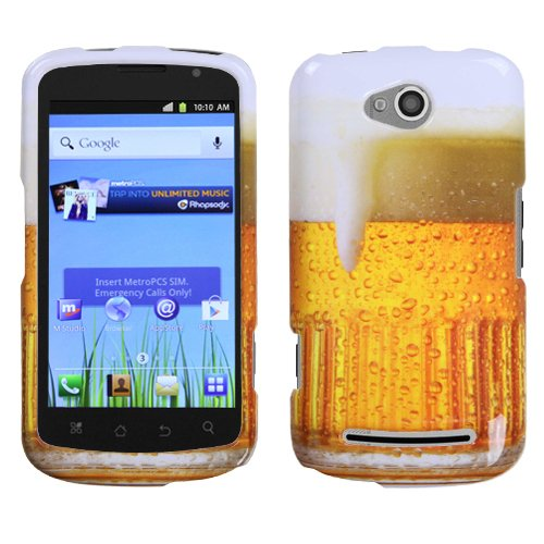 MYBAT Beer – Food Fight Collection Phone Protector Cover for COOLPAD 5860E (Quattro (Quattro Collection)