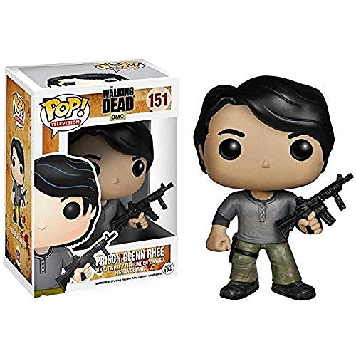 A-Generic Funko The Walking Dead Figura # 151 Prison Glenn Rhee Pop Multicolor