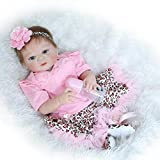 Doll Handmade 22'' Girl Baby Doll Full Body Soft Vinyl Silicone