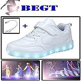 BEGT Children Boys Girls USB Charging LED Light