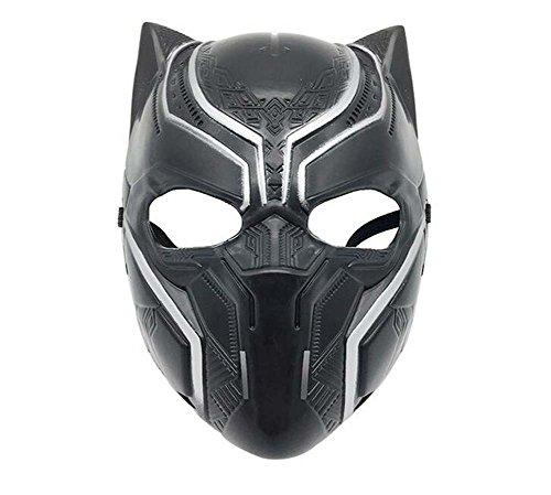 Punk Style Halloween Panther Helmet Cos Captain America Mask Marvel Anime Movie Theme Mask ()