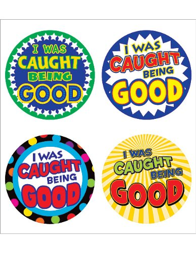 Teacher Created Resources I Was Caught Being Good WearEm Badges